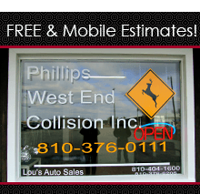 Antique and Classic Car Restoration - Deckerville, MI - Phillips West End Collision Inc