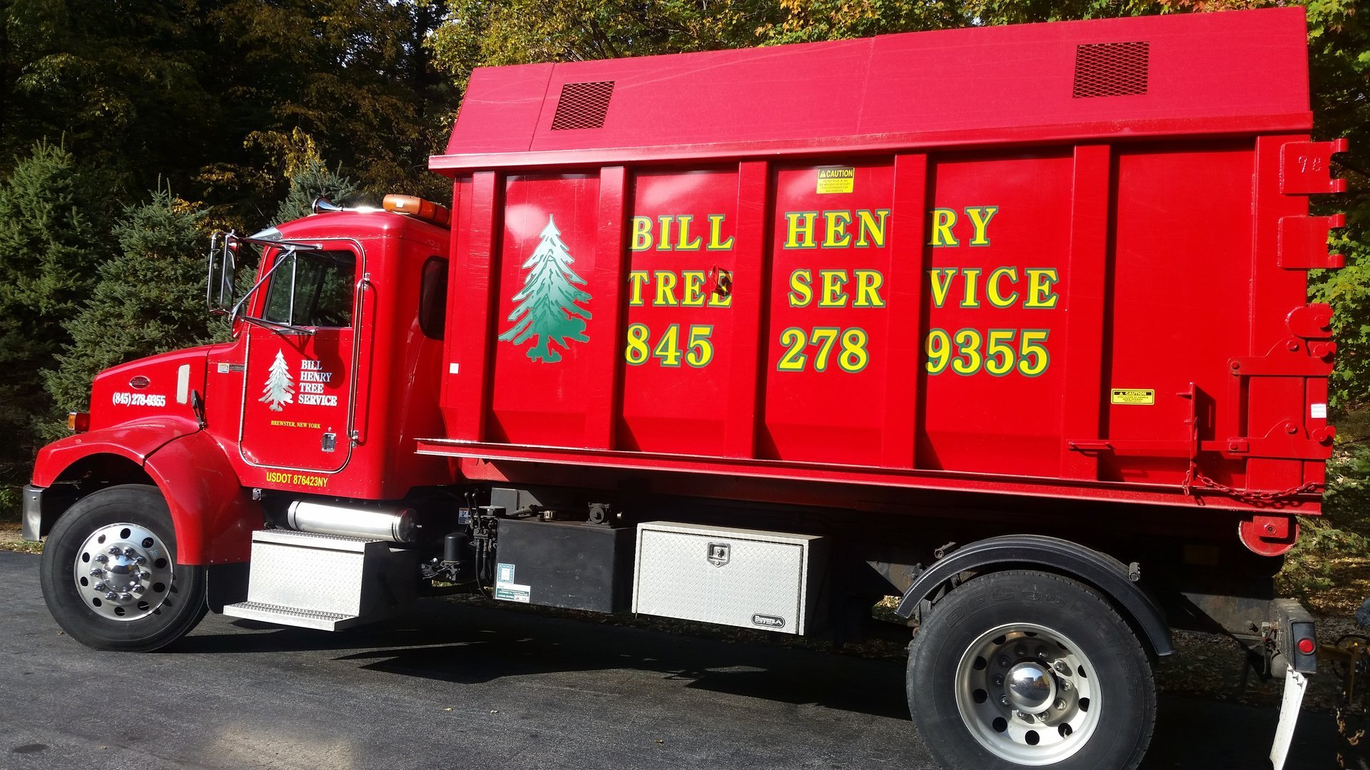 Bill Henry Tree Service truck