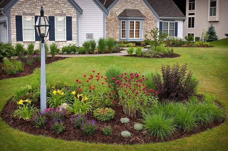 Stunning Flower Bed Design Ideas for Your Front Yard