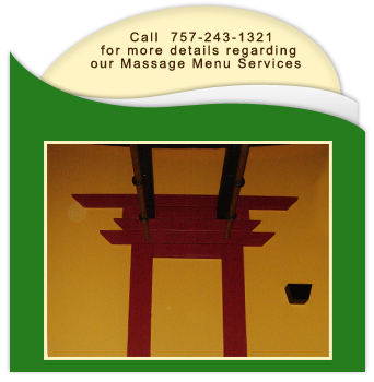 Massage Therapy - Yorktown, VA - Tao Qi Massage Therapy - Call 757-243-1321  -for more details regarding our Massage Menu services
