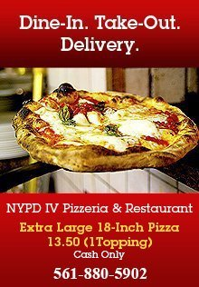 Restaurants Boynton Beach Fl Nypd Iv Pizzeria Restaurant