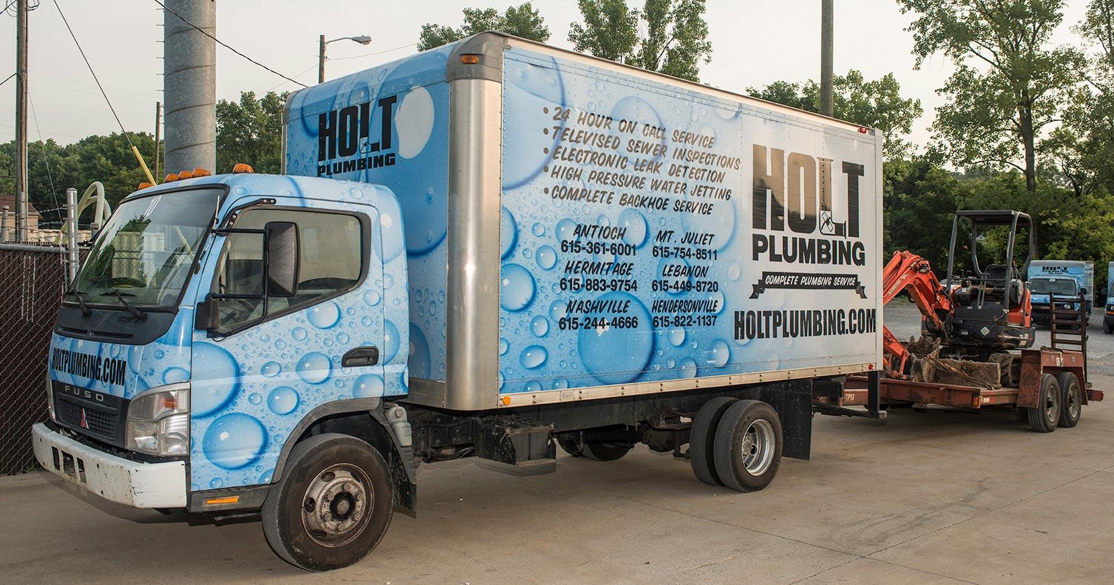 Holt Plumbing van