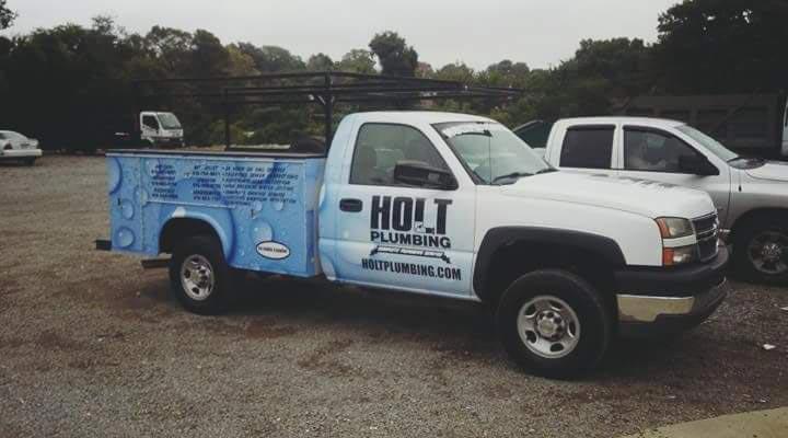 Holt Plumbing truck