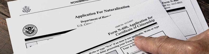 Certificate of citizenship