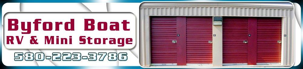 Storage Services - Ardmore, OK - Byford Boat RV & Mini Storage