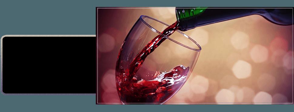 Wine in the bottle