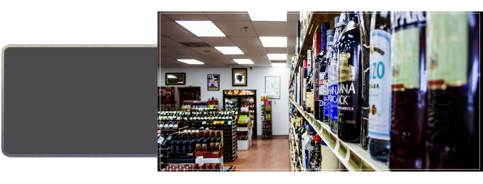 Liquors in one place