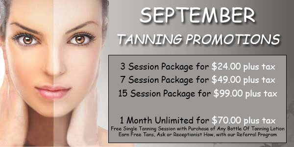 August Tanning Promotions | Long Beach, CA | j.w. Goodson's | 562-433-6731