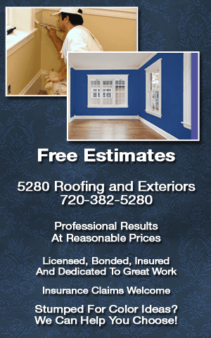 Exterior And Interior Painting   Denver, CO   5280 Roofing And Exteriors,  Inc.