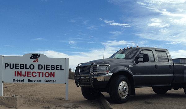 Pueblo Diesel shop