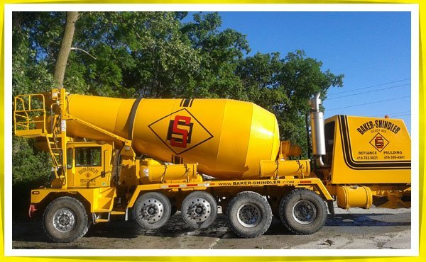 Baker-Shindler Ready Mix & Builders Supply truck