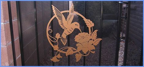 contemporary doors | Sierra Vista, AZ | Custom Iron Arts | 520-378-1050