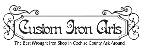 wrought iron | Sierra Vista, AZ | Custom Iron Arts | 520-378-1050
