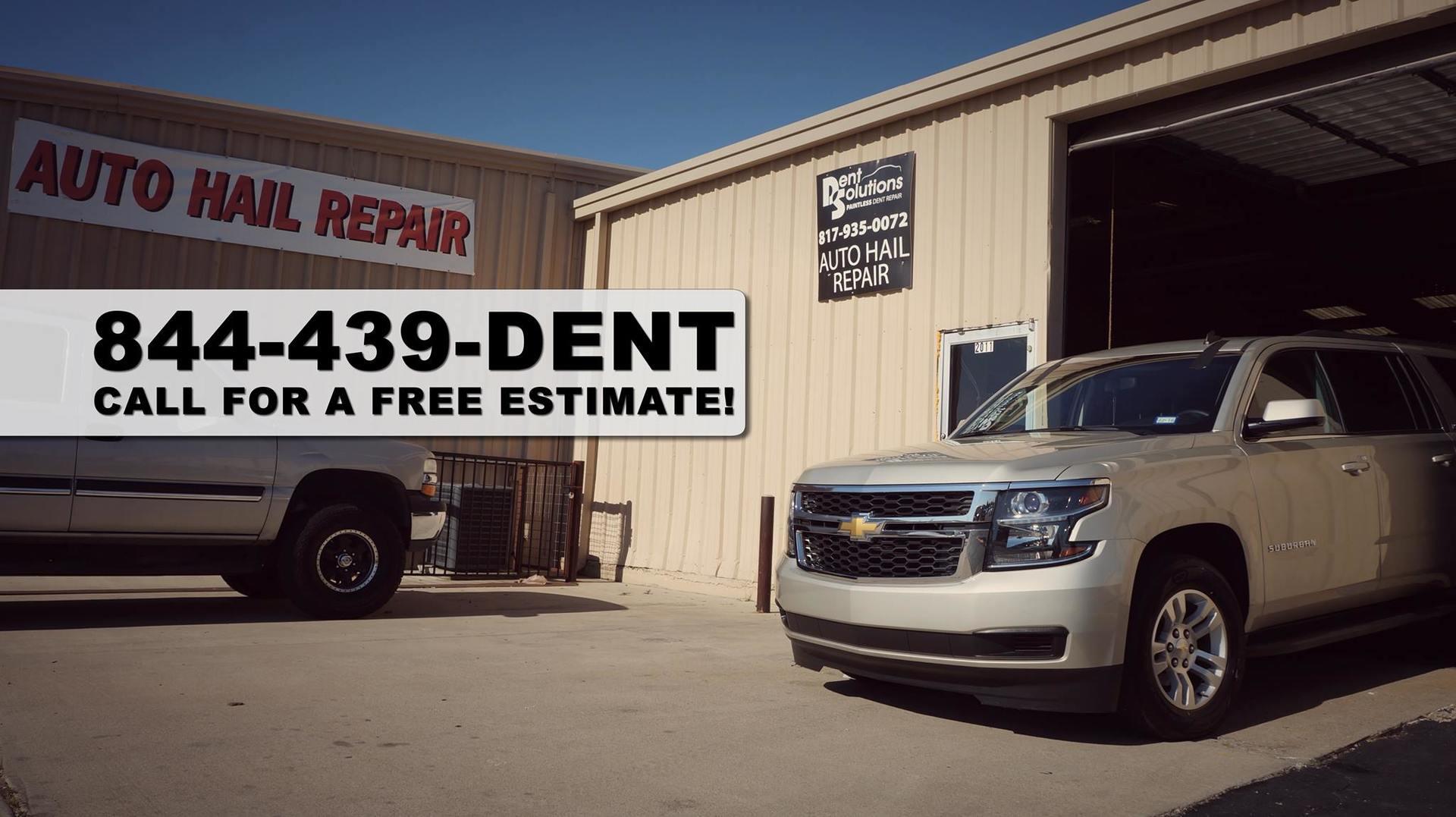 Dent repair shop