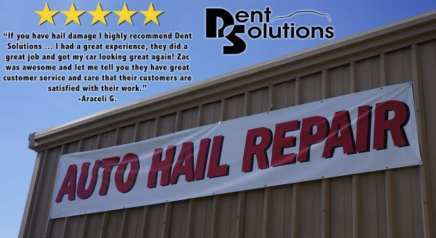 Auto hail repair customer comment