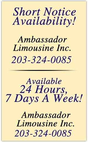 Ambassador Limousine Inc. - Limousine Service - Stamford, CT