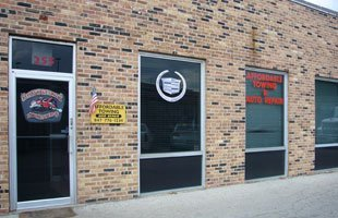 Affordable Towing and Auto Repair building
