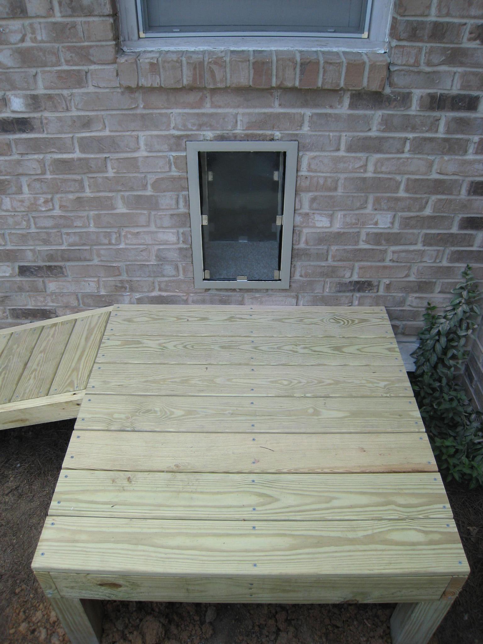 Dog Door and Ramp