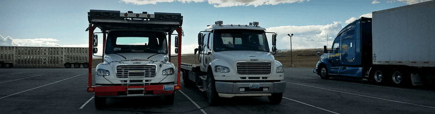 Light duty towing services