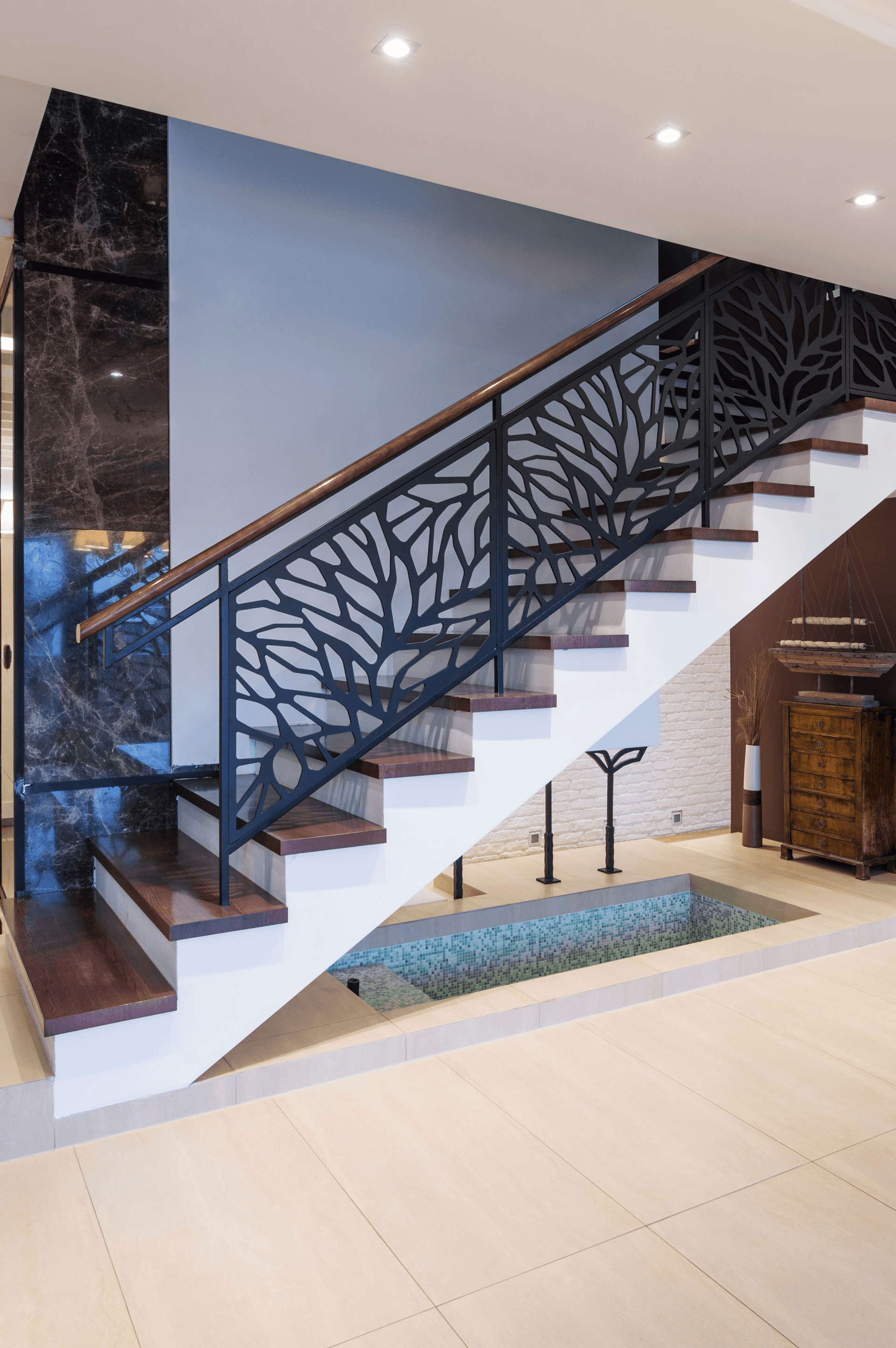measurement and design staircases el process interior railings metal handrails ca monte