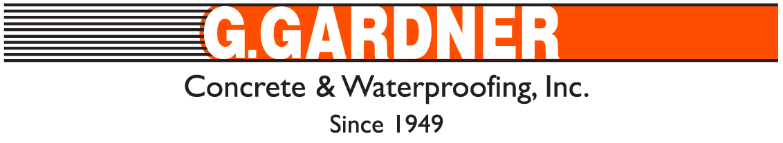 G Gardner Concrete & Waterproofing, Inc. - Logo