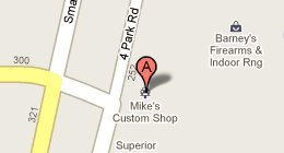 Mike's Custom Shop , 200 Four Park Rd., Lafayette, LA 70507-2481