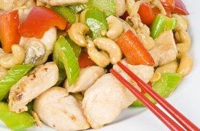 Cashew chicken cuisine