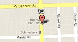 Red Wing Shoe Store 2122 N. Reynolds Rd. Toledo, OH 43615