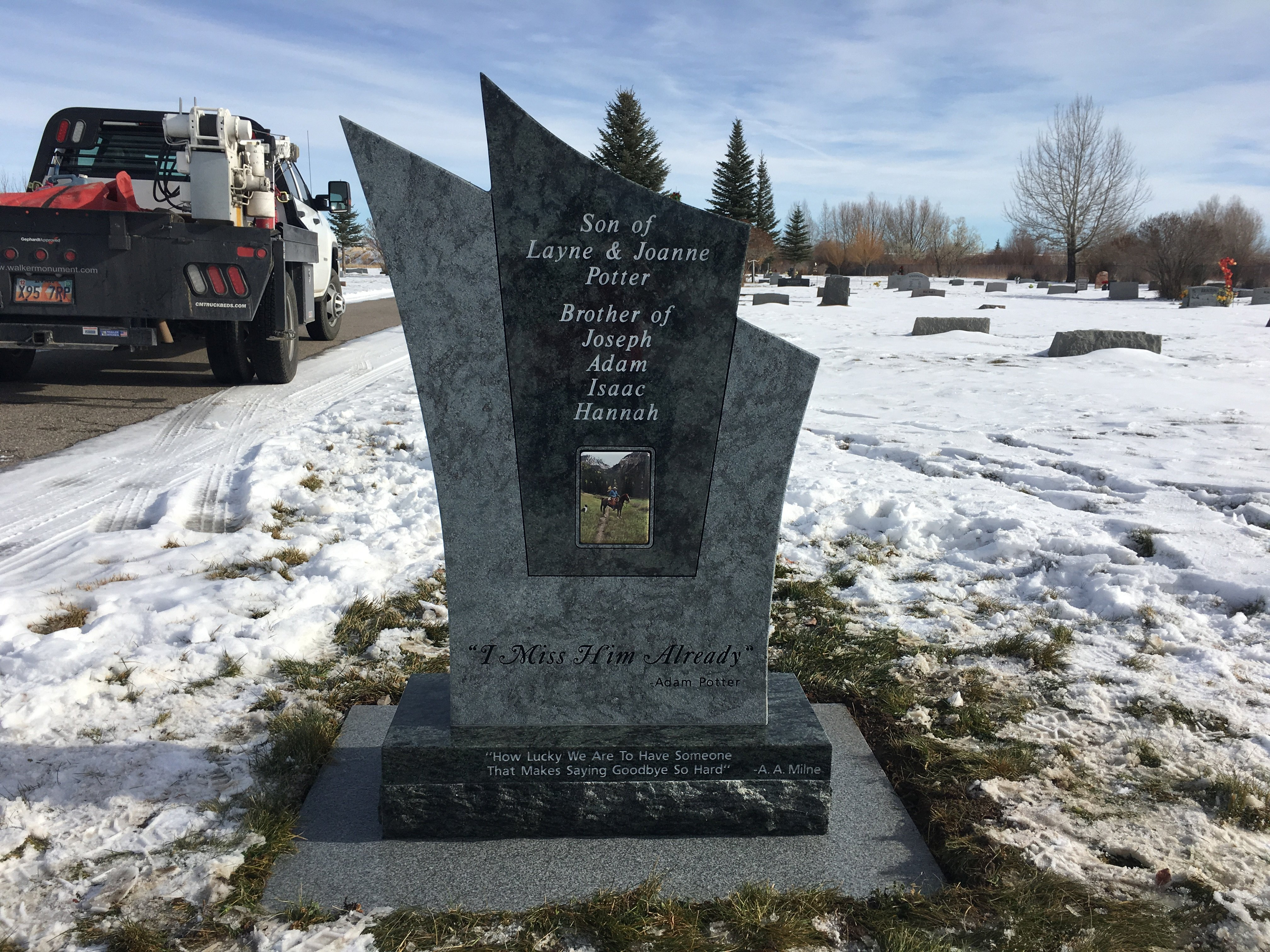 Lyman Cemetery, Wyoming