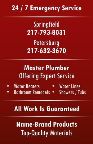 Plumbing - Springfield, IL - Collins Plumbing Heating & Cooling