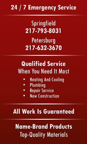 Plumbing | Heating | Cooling - Springfield, IL - Collins Plumbing Heating & Cooling