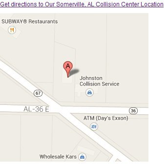 Johnston's Collision Service - 5320 Hwy 67 S Somerville, AL 35670