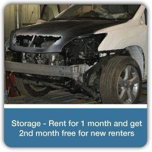Auto Body - Somerville, AL - Johnston's Collision Repair - body repair - Storage - Rent for 1 month and get 2nd month free for new renters
