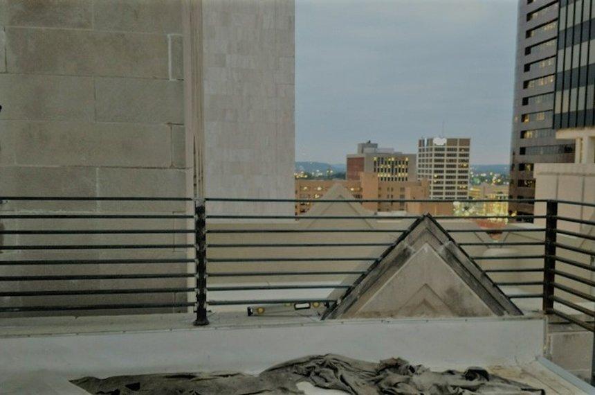 rooftop railing