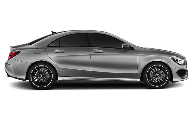 Silver Mercedes Package