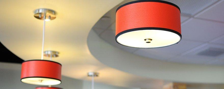 Custom-built lamp