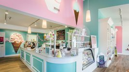Inside the store of yummy