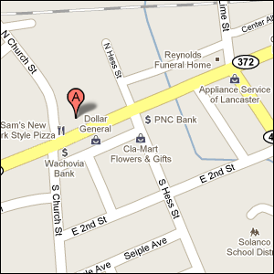 Erma's Flowers & Antiques - 12 E State Street  Quarryville, PA 17566