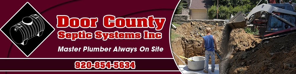 Plumbing Service Sister Bay, WI - Door County Septic Systems Inc