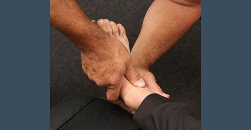 Podiatric  treatment
