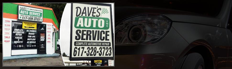 Dave's Auto Service Inc. building