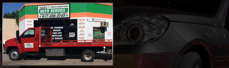 Collision Repair | Quincy, MA | Dave's Auto Service Inc. | 617-328-3723