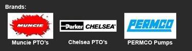 Munchie PTO's | Chelsea PTO's | PERMCO Pumps | dp Winch | Braden | Tulsa Winch