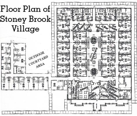 Floor Plan Of Stoney Brook VIllage
