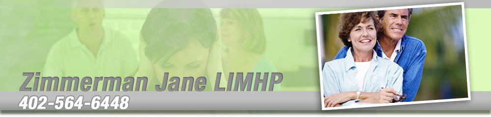 Counseling Services - Columbus, NE - Zimmerman Jane LIMHP