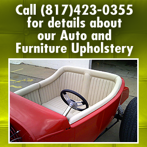 Upholstery - Fort Worth, TX  - Teocal's Upholstery - Call (817)423-0355 for details about our Auto and Furniture Upholstery