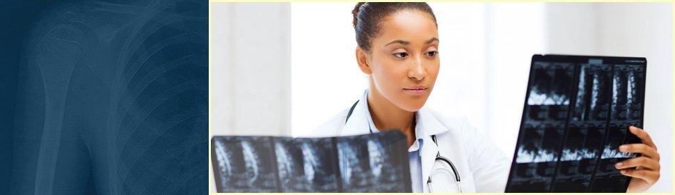 Doctor xray examine