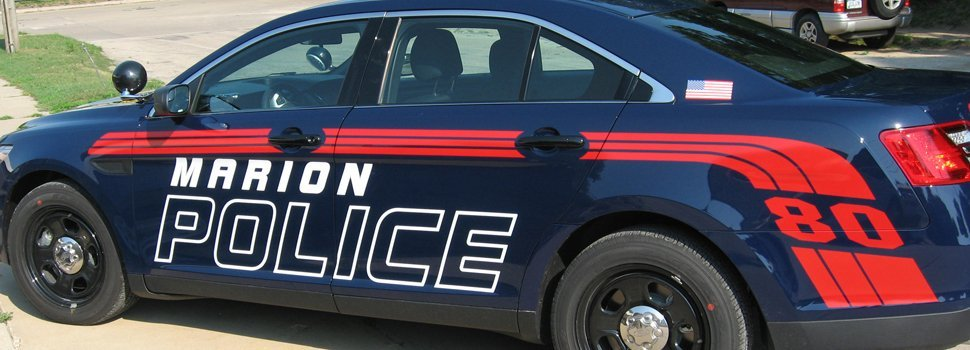 Marion Police Car