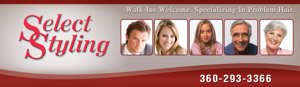 Hair Salon - Anacortes, WA - Select Styling LLC