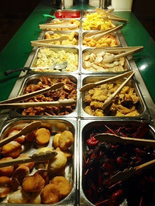 Delicious chinese dishes